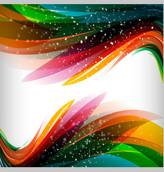 abstract colorful background for business vector image vector image