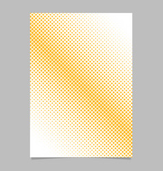 Geometric abstract halftone square pattern vector