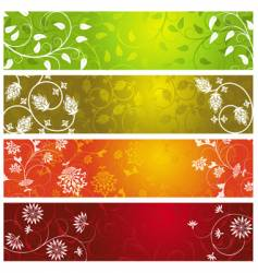 summer banners vector image