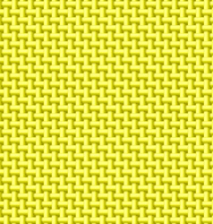 Yellow cloth texture vector image vector image