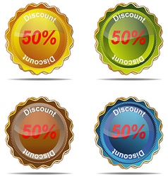 Discount label percent market nobody business sig vector