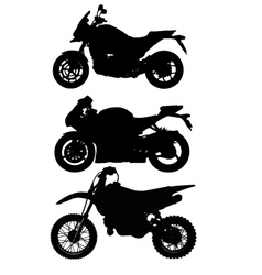 Big Bike vector image