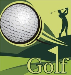 Golf poster competition golf image vector