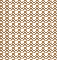 Beige striped flaked seamless pattern vector