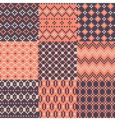 Color pixel set of background vector