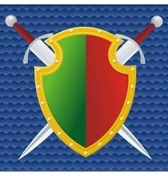 portugal shield vector image