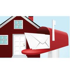 Post box vector