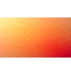 Red yellow polygonal mosaic background creative vector