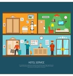 Hotel service vector