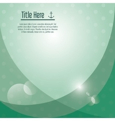 Green wallpaper icon cover background vector