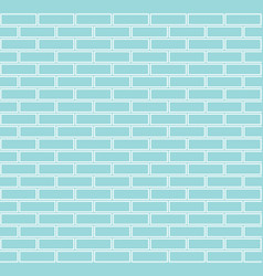 seamless brick background vector image