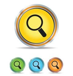 search icon circle vector image