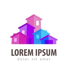 Estate logo design template house or vector