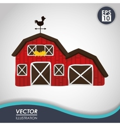 Farm icon design vector