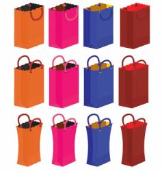 gift bags vector image