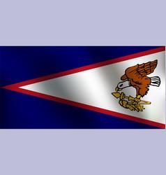 Flag of american samoa - vector