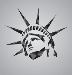Statue of liberty symbol vector