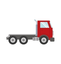 Truck transportation delivery icon graphic vector