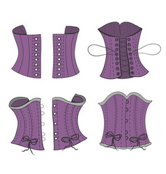 Tightening of the corset vector