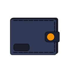 closed wallet icon image vector image