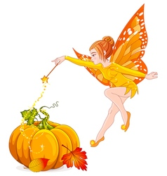 Magic fairy vector image