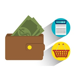 Shopping sales and ecommerce vector
