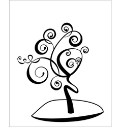 art tree vector image