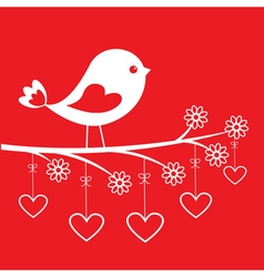 Cute bird vector image vector image