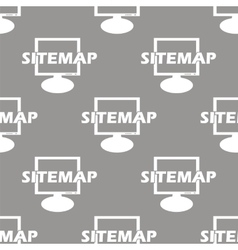 Sitemap seamless pattern vector