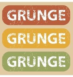 Vintage grunge stamp set vector
