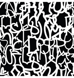 Graffiti background pattern vector
