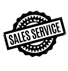 Sales service rubber stamp vector