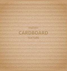 realistic cardboard texture vector image