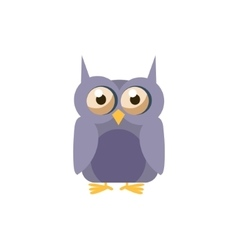 Owl Simplified Cute vector image vector image