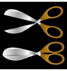 scissors vector image vector image