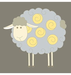 Sheep paint vector