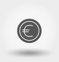 money sign coin euro vector image