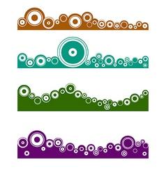 landscape graphic element vector image