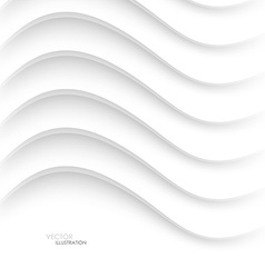 Abstract white background with lines vector