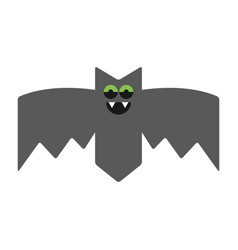 bat emotional vampire the character for vector image vector image
