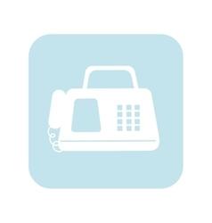 Fax machine telephone vector