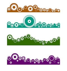 landscape graphic element vector image