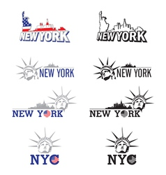 New york symbol vector