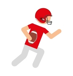 Player american football icon vector
