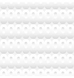 Shades of white ovals seamless background tile vector