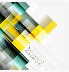 Abstract blocks template design background simple vector