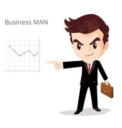 Business man character vector