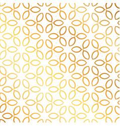 Golden flower pattern background flower pattern vector