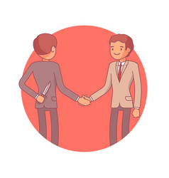 Hidden intentions at negotiations vector