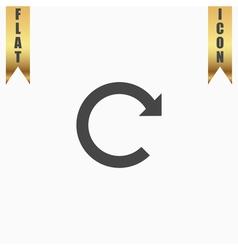 Arrow rotation vector image